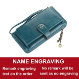 The Diva Engraving Wallet, -50 + Free Shipping