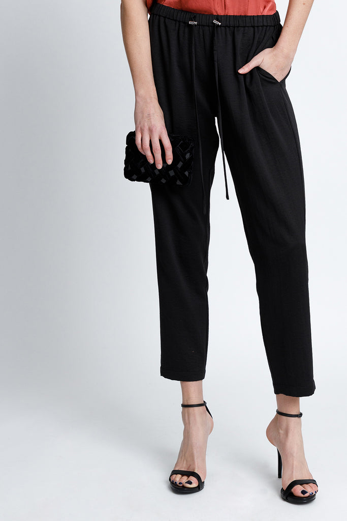 Relaxed All Occasion Trouser Pants - Black