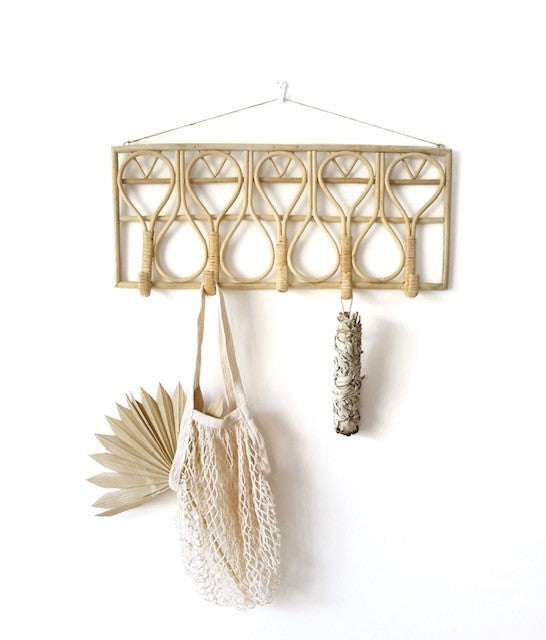 GILLI RATTAN WALL HOOK