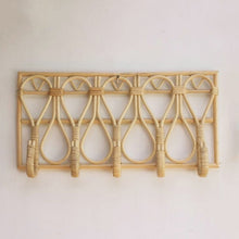 Load image into Gallery viewer, GILLI RATTAN WALL HOOK