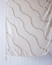 Load image into Gallery viewer, RIVERINA NATURAL COTTON THROW