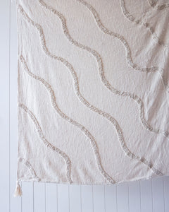 RIVERINA NATURAL COTTON THROW