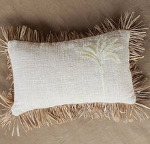 Load image into Gallery viewer, NEW!! PALM TREE LUMBAR CUSHION
