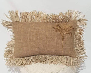 NEW!! PALM TREE LUMBAR CUSHION