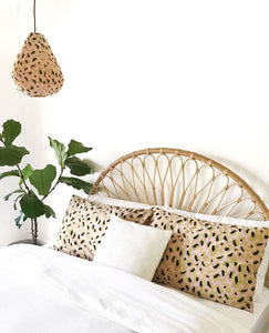 LEOPARD PRINT PILLOW COVERS (SET OF 2)