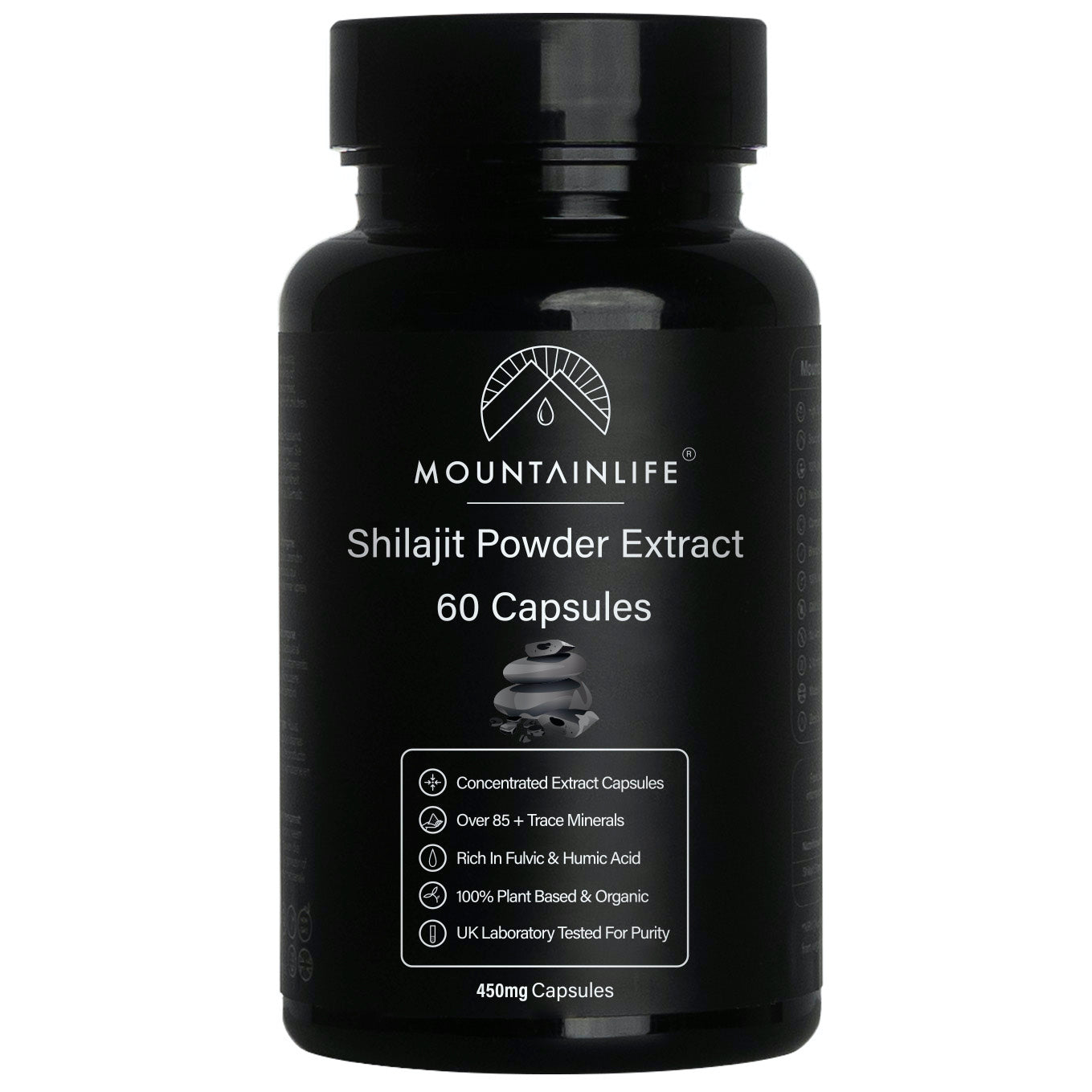 Natural Shilajit Extract Capsules