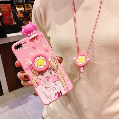 Sailor Moon Screen Protector Anime Phone Case