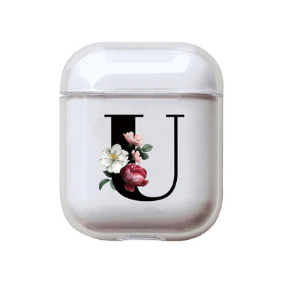 Fashion Flowers Letter Case For Airpods 2
