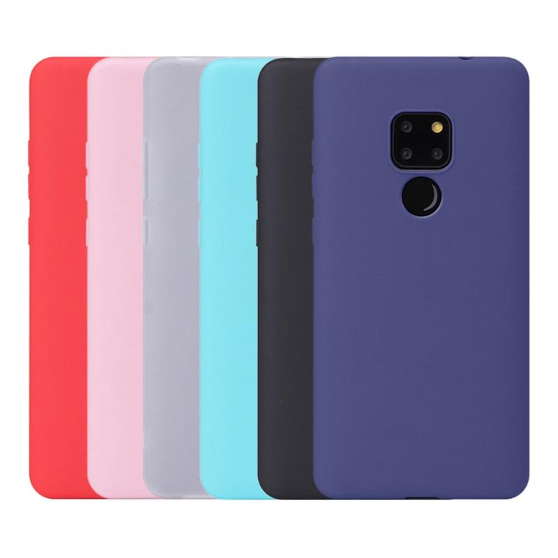 Candy Color All-inclusive Phone Case Plain Silicone