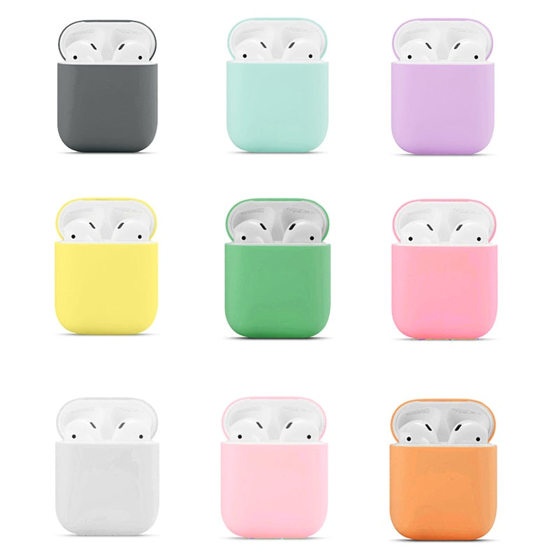Airpods Multicolor Silicone Case Protective
