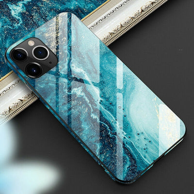 Luxury Full Protective Marble iPhone Case