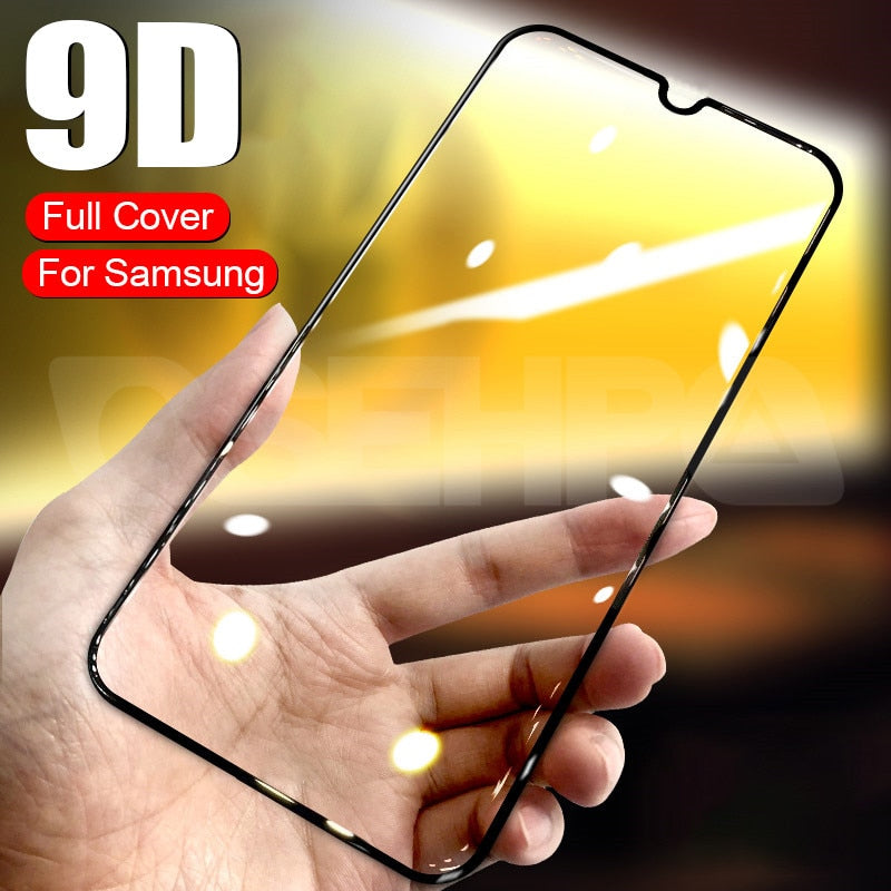 9D Tempered Glass For Samsung Galaxy A10 A30 A50 A70 Screen Protector Samsung A20E A10S A20S A30S A40S A50S A70S M10S M30S Glass
