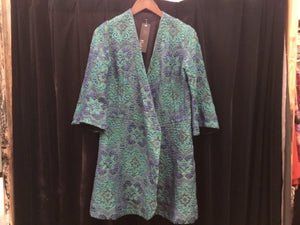 V Simply exquisite 70s Wallpaper brocade jacket *handmade S