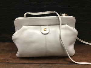 LQ 80s Cardini leather Sheridan handbag