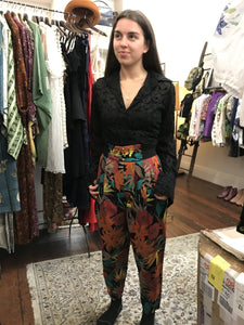 VWB 80s Tropicana nights high pants S