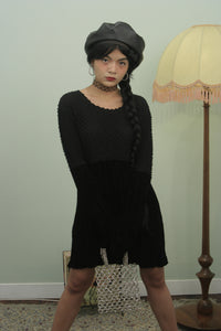Vintage 90s The Craft Velvet Dress S/M