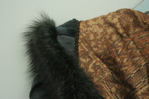 Absolutely divine vintage green eskimo fur coat
