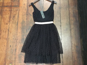 M Vintage Sophisticates tulle doll dress XS/S *as is