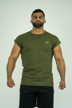 Mens Capped Shoulder Shirts - KARDIOMATTERS