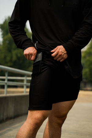 Mens Compression Shorts - KARDIOMATTERS
