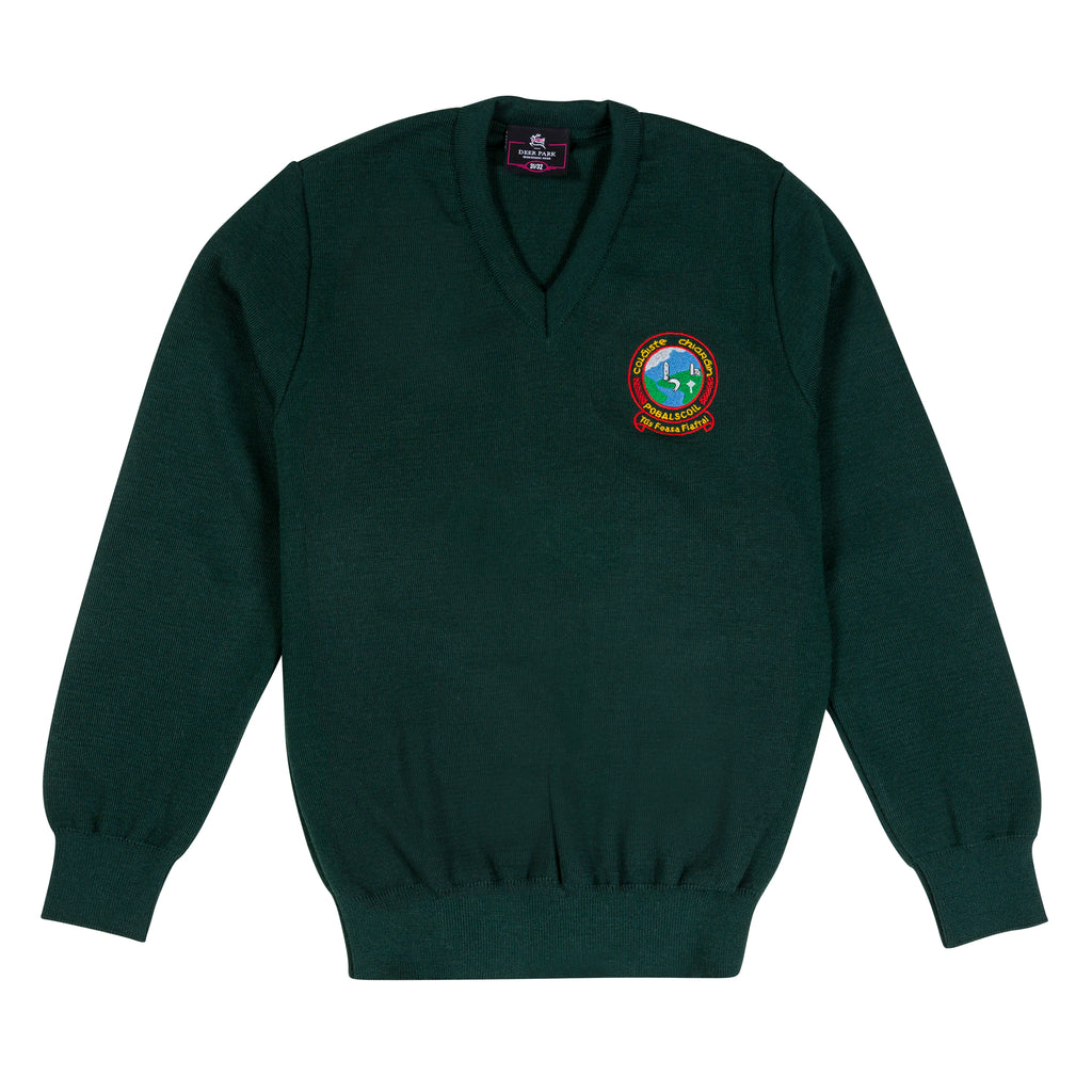 Coláiste Chiaráin Green Junior Cycle Jumper - Bernard Owens