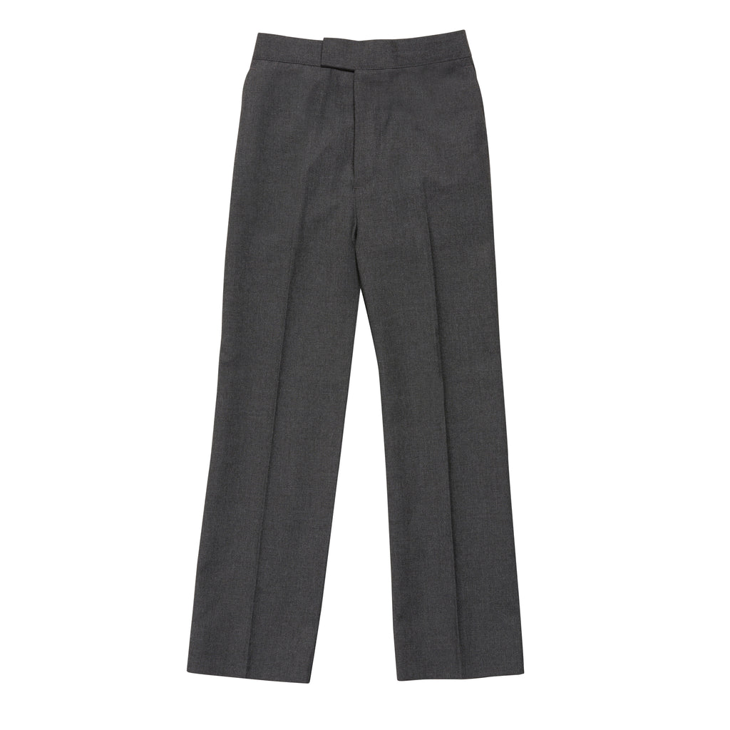 Virginian Boys Grey School Trousers - Bernard Owens
