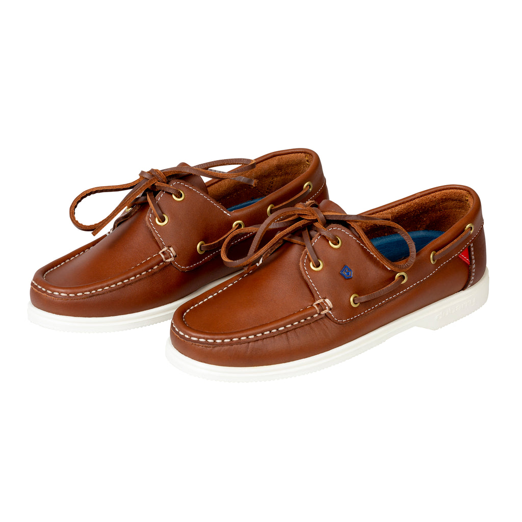 Dubarry Brown Admiral Deck Shoe - Bernard Owens