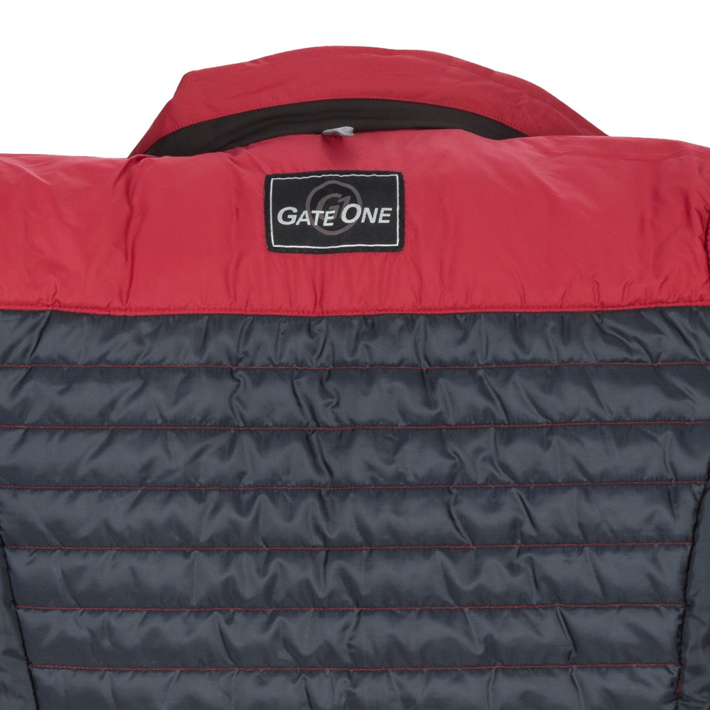 Gate One Red Quilted Jacket - Bernard Owens