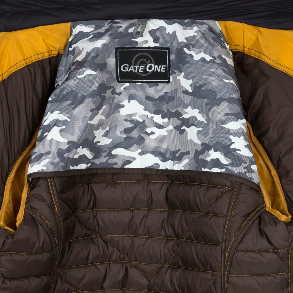Gate One Yellow Quilted Jacket - Bernard Owens