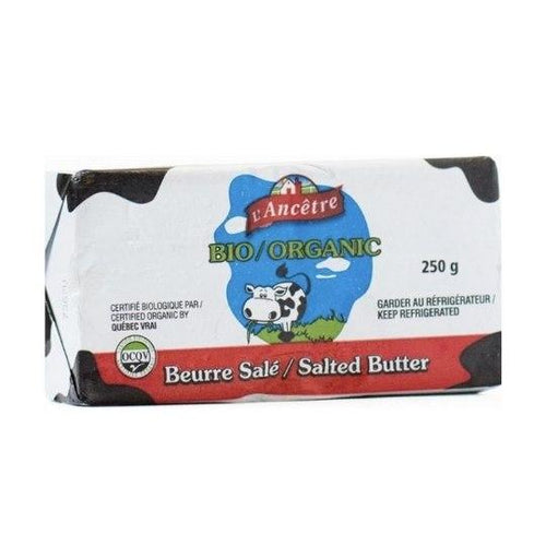 L'ancentre Organic Salted Butter, 250g Organic Dairy Organic Dairy