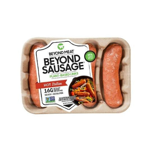 Beyond Meat Hot Italian Brats/Sausages - 4 pack Plant-Based Proteins and Meal Solutions Plant-Based Proteins and Meal Solutions
