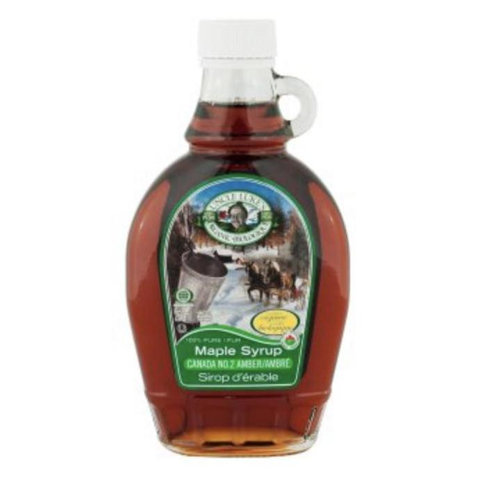 PURE MAPLE SYRUP CANADA GRADE A, DARK ROBUST TASTE 250mL - Larry's Online Delivery