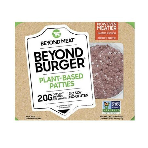 Beyond Meat Burgers Frozen - 2 Patties plant-based proteins plant-based proteins