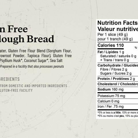 Alkeme Gluten Free Sourdough 925g