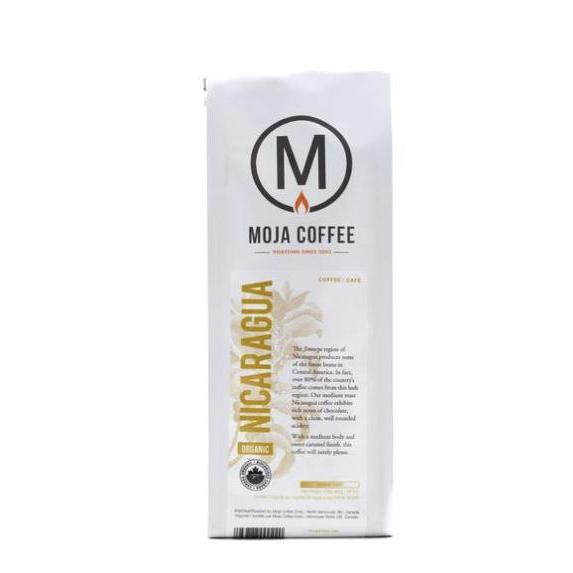 Moja Coffee Whole Bean 400g Organic Nicaragua Coffee and Tea Coffee and Tea