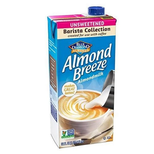 Unsweetened Almond Breeze Barista Milk 946mL Plant-Based Dairy Larry's Online Delivery