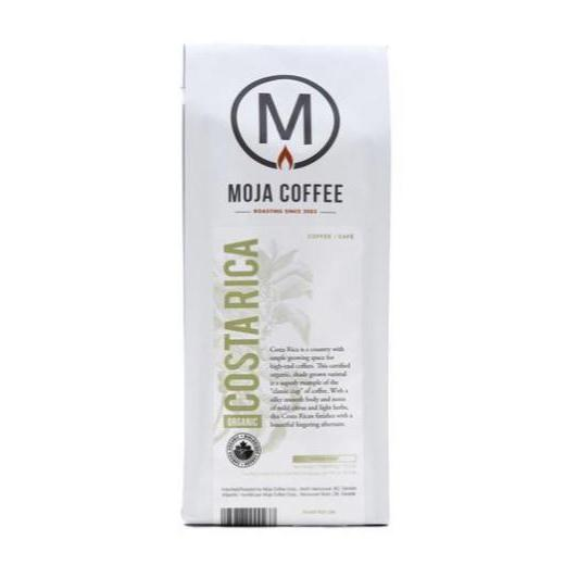 Moja Coffee Whole Bean 400g Organic Costa Rica Coffee and Tea Coffee and Tea