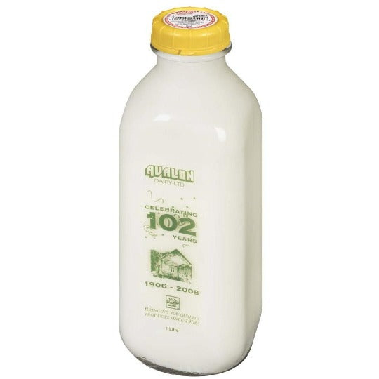 Skim Avalon Organic Milk- $1.25 Deposit included in price - Larry's Online Delivery