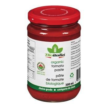 Bioitalita Organic Tomato Paste 300mL Canned Vegetables and Sauces Larry's Online Delivery