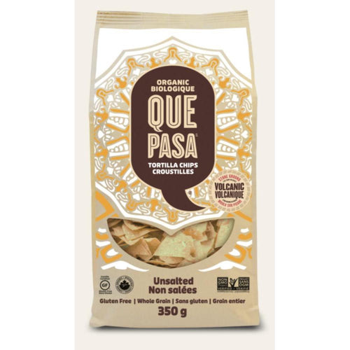 Que Pasa Unsalted Tortilla Chips snacks Snacks