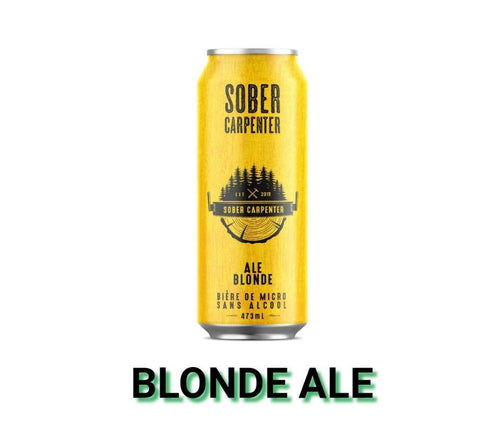 Sober Carpenter Blonde Non-Alcholic Craft Beer- 473ml Drinks Larry's Online Delivery
