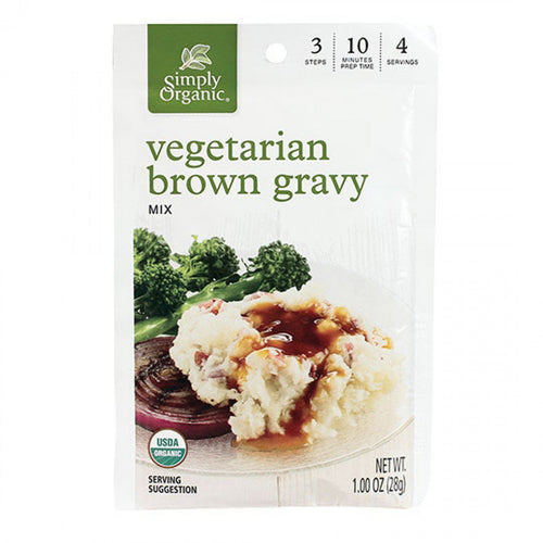 Simply Organic Vegetarian Brown Gravy Pantry Pantry