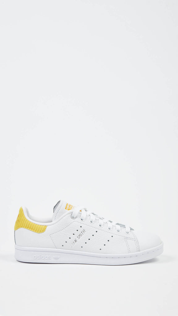 Adidas - White & Yellow Stan Smith | Shoes - Sneakers