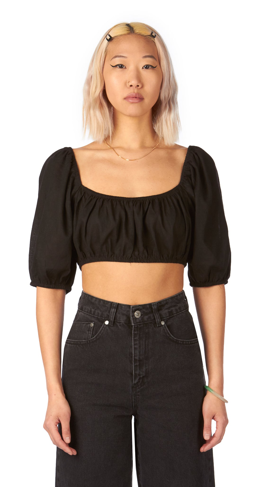 Sweet Dreams, Loren Crop, Clothing - Tops - Cropped - Editorial Boutique