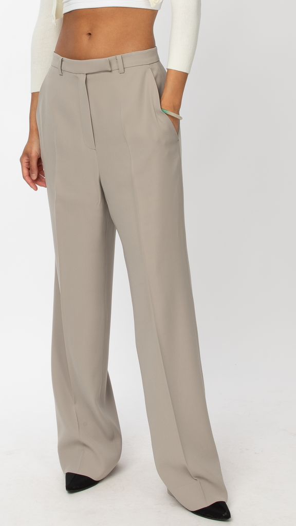 Byblos: Beige L Pant | Editorial Boutique
