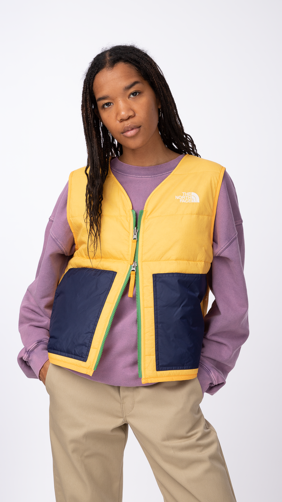 Brain Dead x North Face - Yellow 68 Sierra Vest | Clothing - Jackets & Coats - Vest