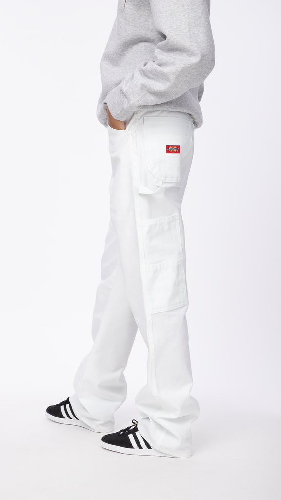 Dickies - White Painter Utility Pant | Clothing - Bottoms - Pants
