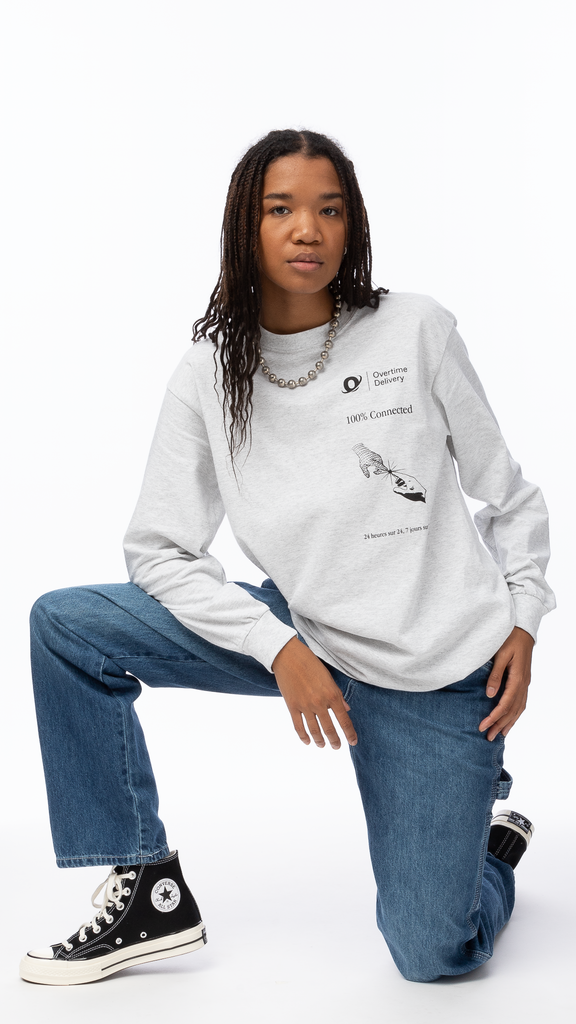 Overtime - 100% Connected Long Sleeve Tee | Clothing - Tops - Long Sleeves