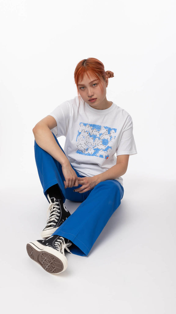 Editorial Magazine - Puppies Run Shirt | Clothing - Tops - T-Shirts