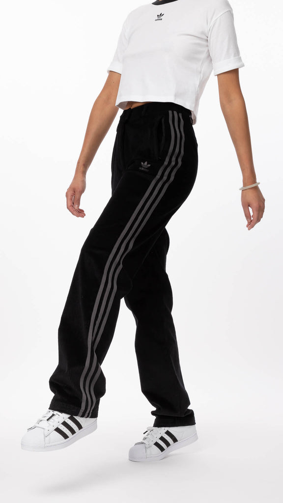 Adidas - Black Track Pant | Clothing - Bottoms - Joggers